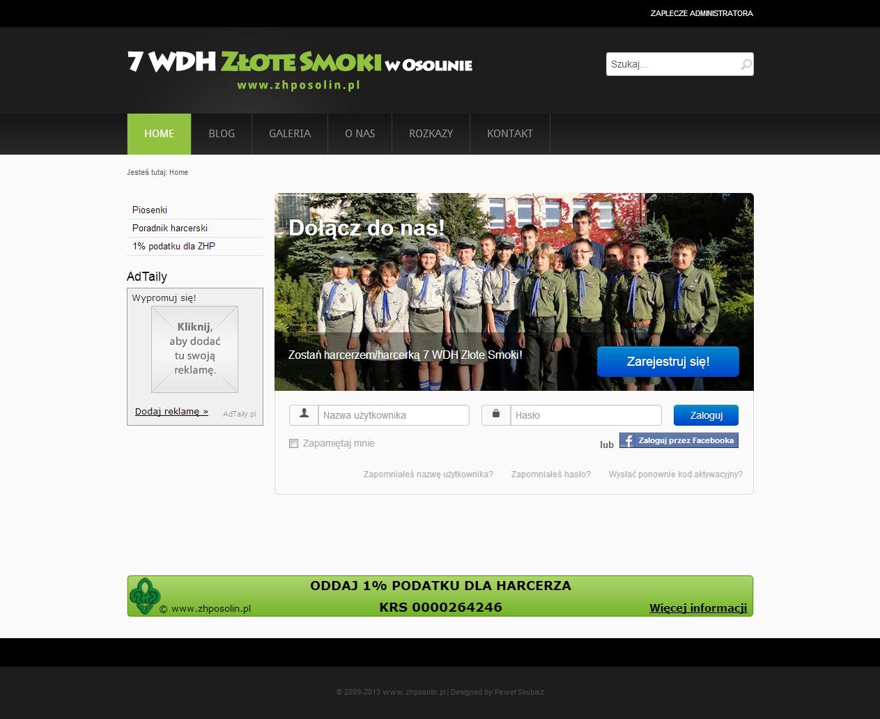 Witaj na www.zhposolin.pl